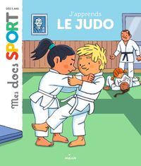 Couverture « J'apprends le judo »