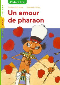 Couverture « Un amour de pharaon »