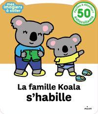 Couverture «La famille Koala s'habille»