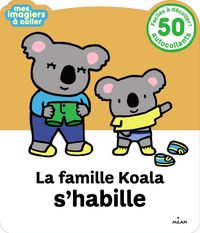 Cover of «La famille Koala s'habille»