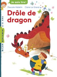 Cover of « Drôle de dragon »