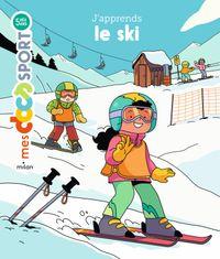 Couverture «J'apprends le ski»