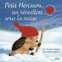 Couverture «Petit Hérisson Un réveillon sous la neige (tout carton)»