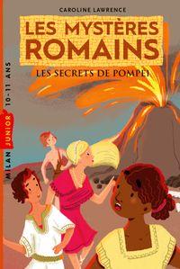 Couverture «Les secrets de Pompéi»