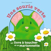 Couverture «Une souris verte – coffret marionnette»