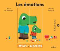 Couverture «Les Minousses – Les Émotions»