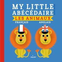 Couverture «My little abécédaire – animaux français anglais»