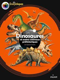 Couverture «Les dinosaures et autres animaux préhistoriques»