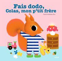 Couverture «Fais dodo, Colas, mon p'tit frère»
