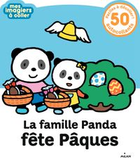 Couverture «La famille Panda fête Pâques»
