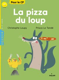 Couverture « La pizza du loup »