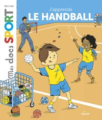 Couverture « J'apprends le handball »