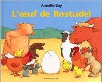 Couverture «L'œuf de Rostudel»