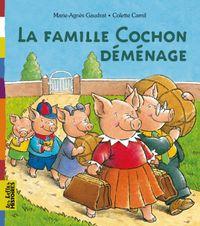 Couverture «La famille Cochon déménage»