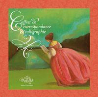 Couverture «Coffret de correspondance et calligraphie – Les orangers de Versailles»