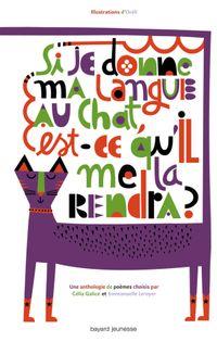 Couverture «Si je donne ma langue au chat, est-ce qu'il me la rend»