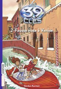 Couverture «Fausse note à Venise»