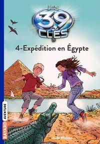 Couverture «Expédition en Égypte»