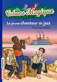 Couverture «Le jeune chanteur de jazz»