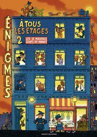 Cover of «Énigmes à tous les étages T. 2»