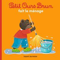 Couverture «Petit Ours Brun fait le ménage»