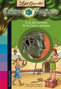Couverture «À la découverte de la Grèce antique»