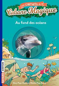 Couverture «Au fond des océans»
