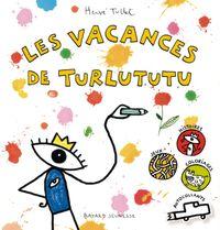 Couverture «Les vacances de Turlututu»