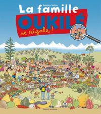 Cover of «La famille Oukile se régale !»