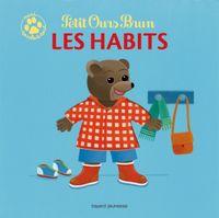 Couverture «Petit Ours Brun mini touche-à-tout – Les habits»