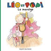 Couverture «Léo et Popi – Au manège»