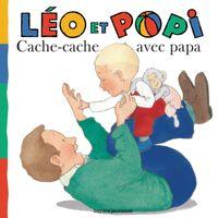 Couverture «Léo et Popi – Cache-cache avec Papa»