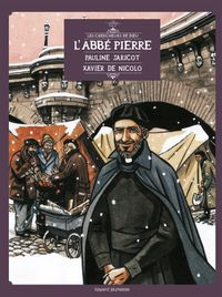 Couverture «L'Abbé Pierre et l'espoir d'Emmaüs, en BD»