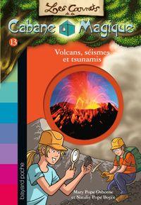 Couverture «Volcans et tsunamis»