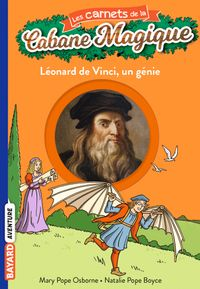 Couverture «Léonard de Vinci, un génie»