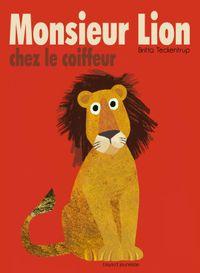 Couverture «Monsieur Lion chez le coiffeur»