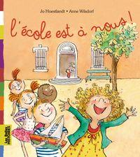 Cover of «L'école est à nous !»
