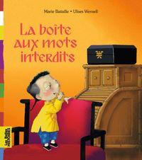 Cover of «La boîte aux mots interdits»