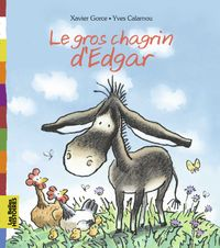 Cover of « Le gros chagrin d'Edgar »