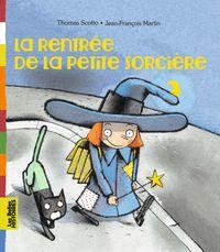 Cover of «La rentrée de la petite sorcière»