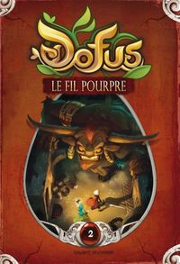 Cover of « Le fil pourpre »