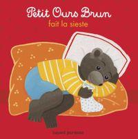 Couverture «Petit Ours Brun fait la sieste»