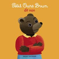 Cover of « Petit Ours Brun dit non »