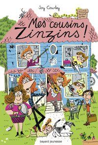 Couverture «Mes cousins zinzins»