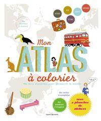 Couverture «Mon atlas à colorier»