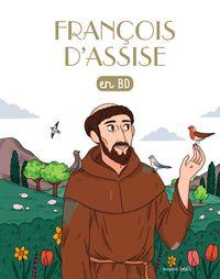 Couverture «Saint François d'Assise en BD»