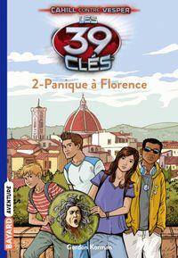Couverture «Panique à Florence»