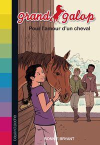 Couverture «Pour l'amour d'un cheval»