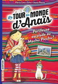 Couverture «À l'assaut du Machu Picchu !»