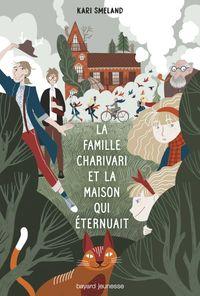 Couverture «La Famille Charivari et la maison qui éternuait»